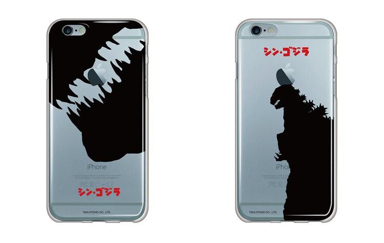 「シン・ゴジラ」iPhone6 / 6S用ソフトクリアケース  全2種(各2980円)
