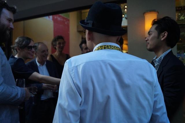第69回ロカルノ国際映画祭新進監督コンペティション部門授賞式の様子。