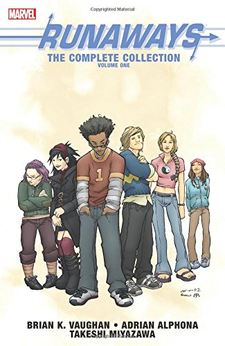 「Runaways: The Complete Collection Volume 1」書影