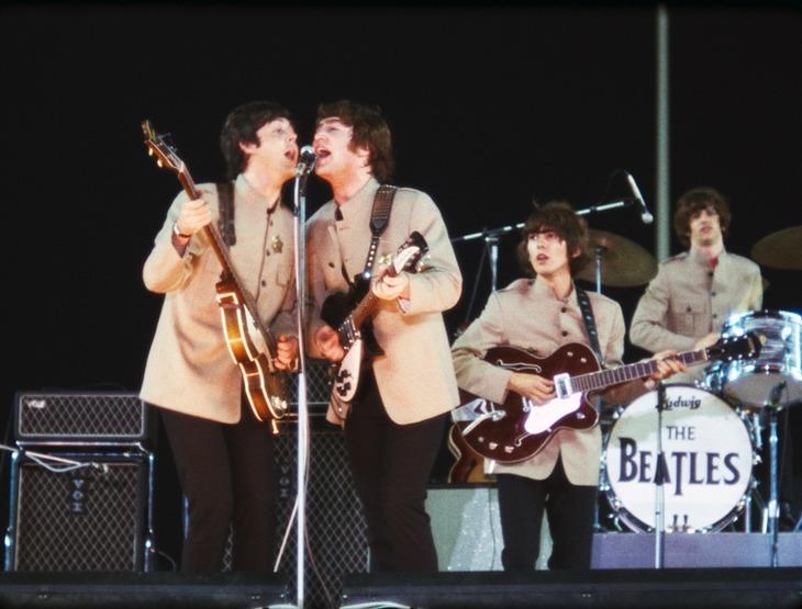 1965年にシェイ・スタジアムで行われたザ・ビートルズのライブ。(c)Apple Corps Limited. (c)Subafilms Ltd.