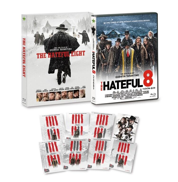 「ヘイトフル・エイト」Blu-ray展開図。