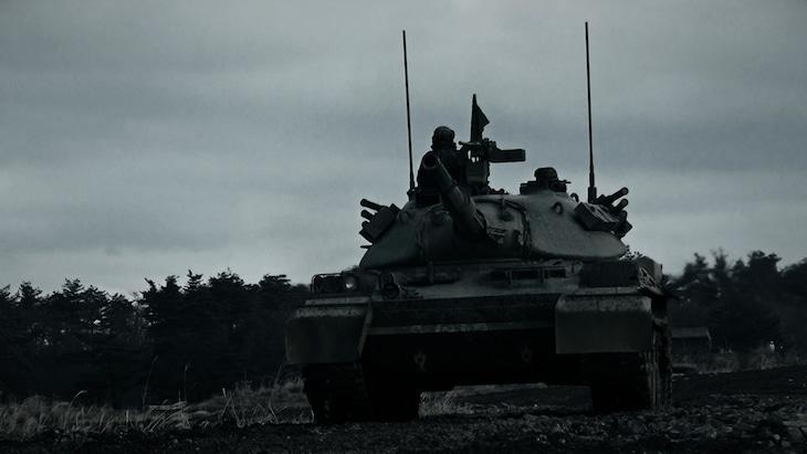 「戦車ライド」