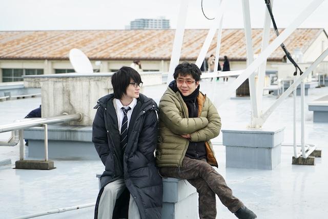 「3月のライオン」主演・神木隆之介(左)と、監督・大友啓史(右)。