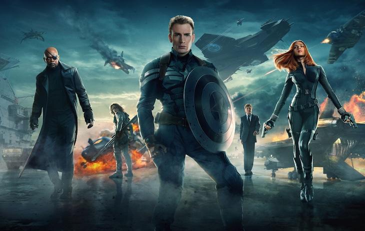 「キャプテン・アメリカ/ウィンター・ソルジャー」ビジュアル (c)2014 Marvel