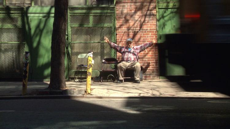 「Don't Blink ロバート・フランクの写した時代」 Photo of Robert Frank by Lisa Rinzler, copyright Assemblage Films LLC