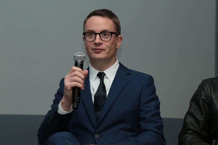 2016年11月、来日時にトークイベントに出席したニコラス・ウィンディング・レフン。