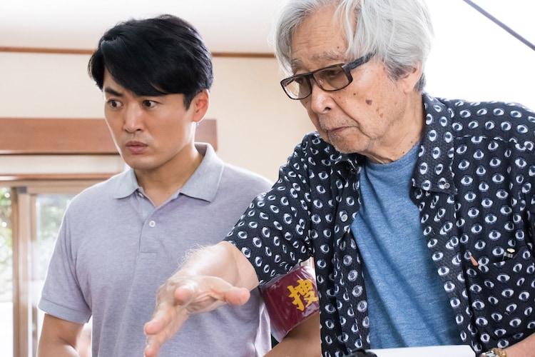 山田洋次の演出を受ける劇団ひとり。