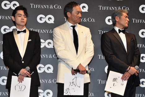 「GQ MEN OF THE YEAR 2016」授賞式の様子。