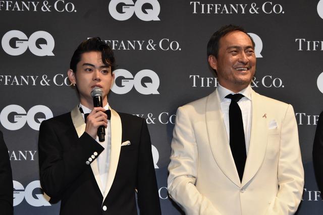 「GQ MEN OF THE YEAR 2016」授賞式の様子。