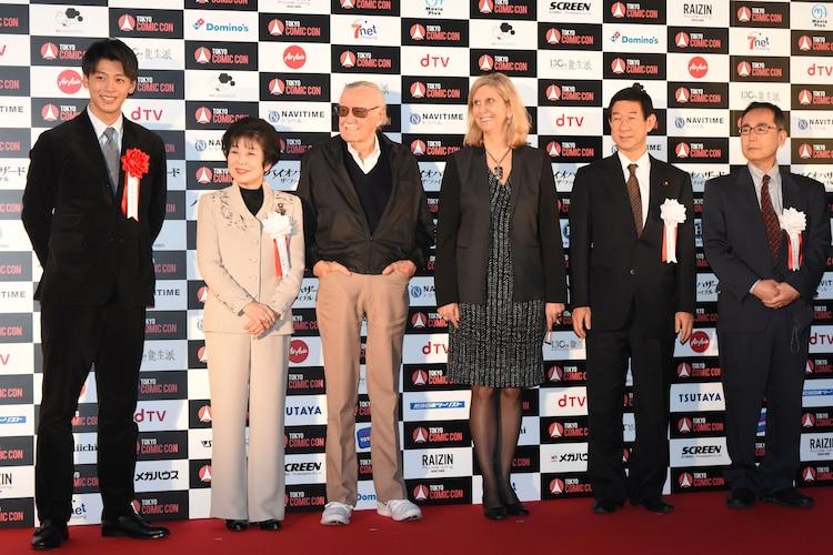 東京コミックコンベンション 2016オープニングセレモニーの様子。