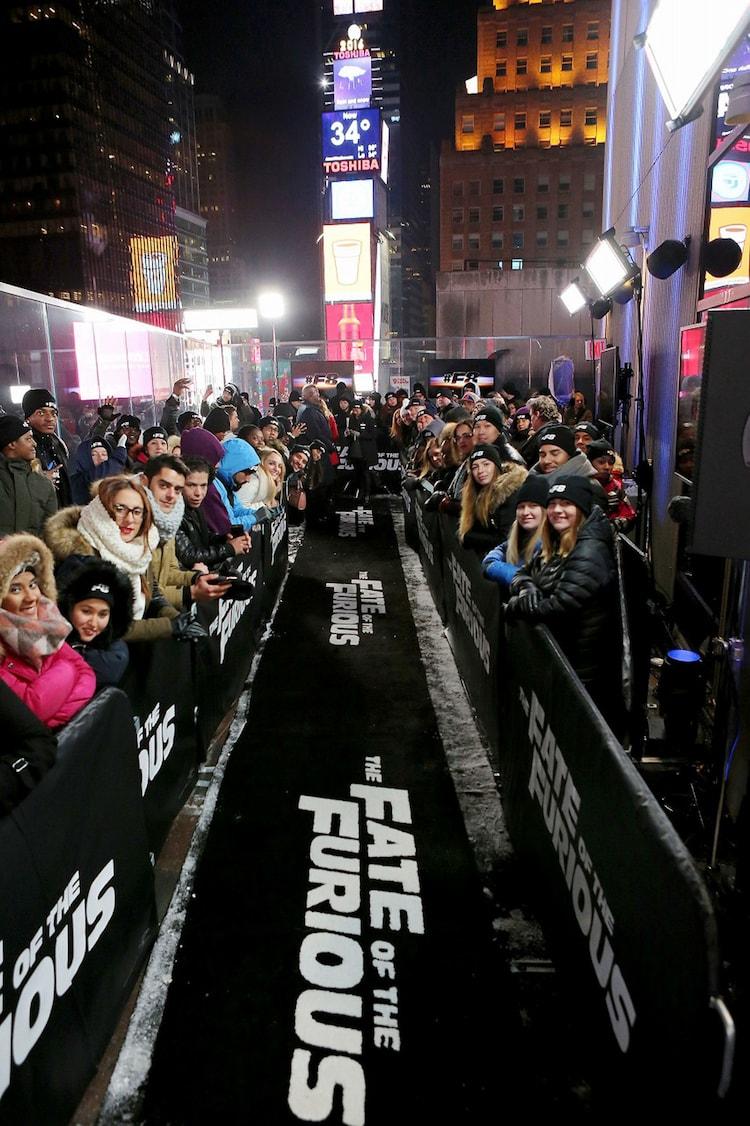 アメリカ・ニューヨークにて現地時間12月11日に開催されたファンイベントの様子。