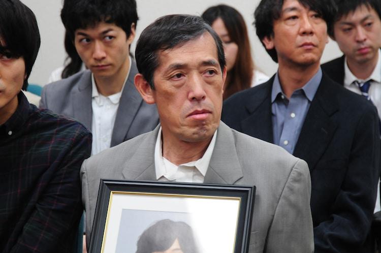 北斗が殺めた被害者遺族の飯岡正志を演じる嶋田久作。