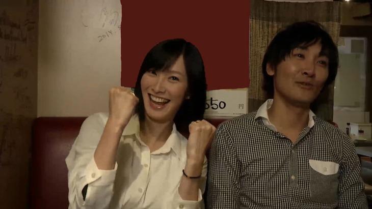「忍び道(仮)」より、長澤奈央(左)と山本康平(右)。(c)TTFC