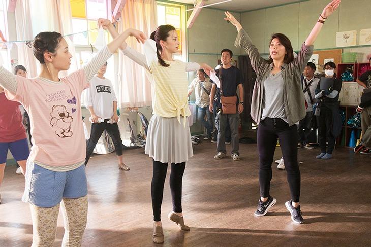 「チア☆ダン~女子高生がチアダンスで全米制覇しちゃったホントの話~」メイキングカット