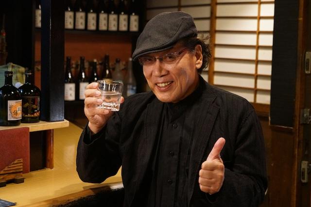 「吉田類の『今宵、ほろ酔い酒場で』」より、吉田類。