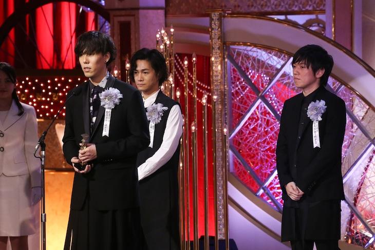「第40回日本アカデミー賞」最優秀音楽賞を受賞したRADWIMPS。
