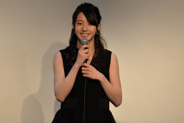 「仮面ライダーアマゾンズ」でアクション女優優秀賞を受賞した宮原華音。