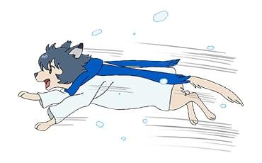 「おおかみこどもの雨と雪」LINEスタンプ