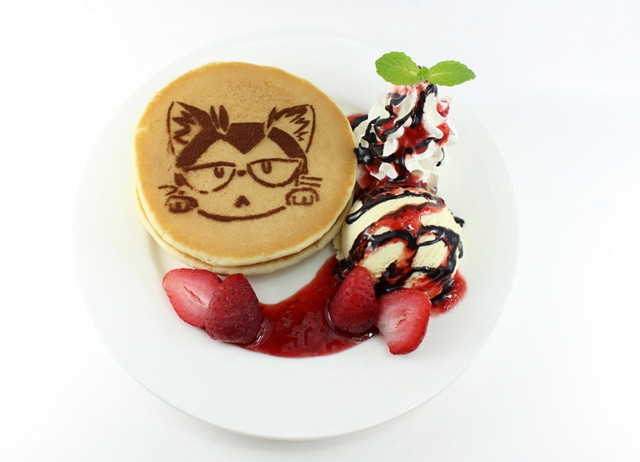 「F14『トム』のベリーチョコパンケーキ」