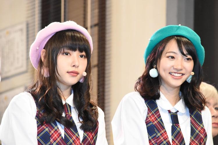 左から桜井日奈子、武田玲奈。