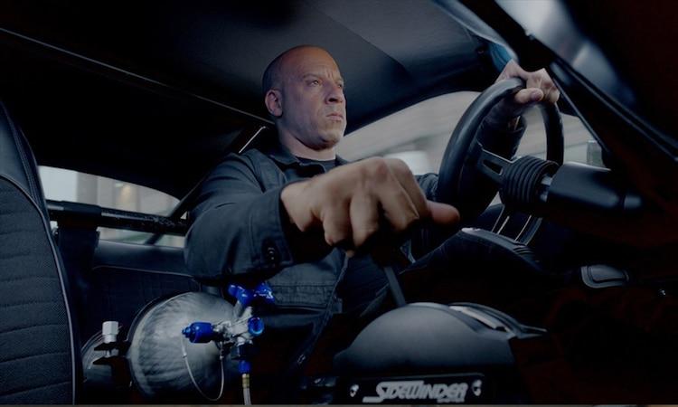 「ワイルド・スピード ICE BREAK」より、ヴィン・ディーゼル演じるドミニク。
