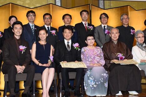第25回橋田賞授賞式の様子。