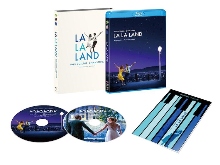 「ラ・ラ・ランド」コレクターズ・エディションの展開図。