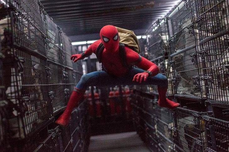 「スパイダーマン:ホームカミング」新場面写真
