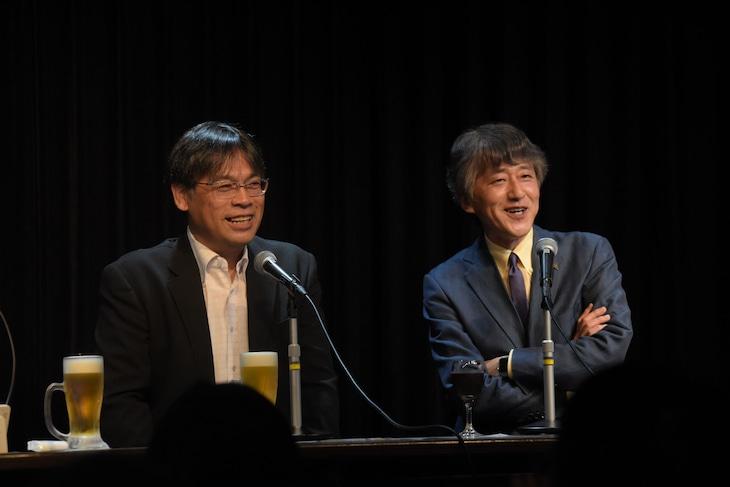左から田崎竜太、白倉伸一郎。