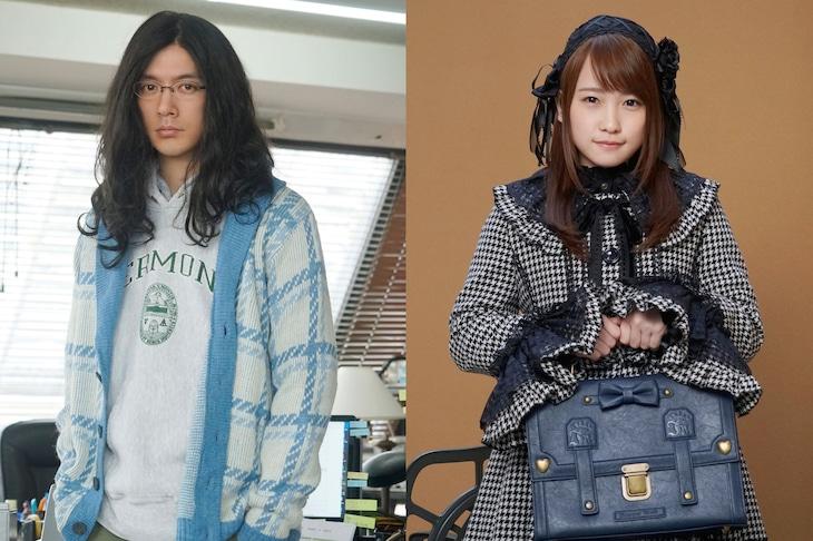 「嘘を愛する女」より、左から木村役のDAIGO、心葉役の川栄李奈。