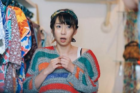 喜安浩平脚本、関和亮監督「夜逃げする女」より、酒井若菜。