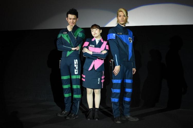 左から伊藤陽佑、菊地美香、林剛史。