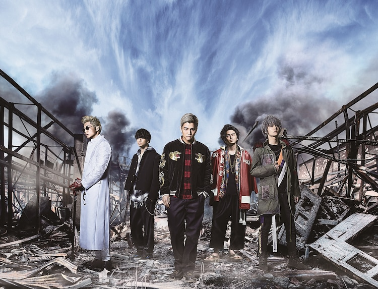 「HiGH&LOW THE MOVIE 2 / END OF SKY」メインビジュアル