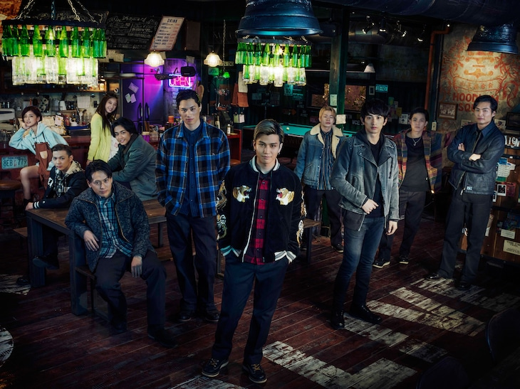 「HiGH&LOW THE MOVIE 2 / END OF SKY」山王街特別ビジュアル