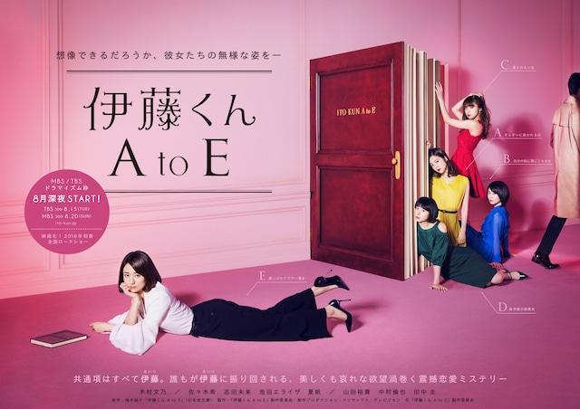 ドラマ「伊藤くん A to E」ポスタービジュアル