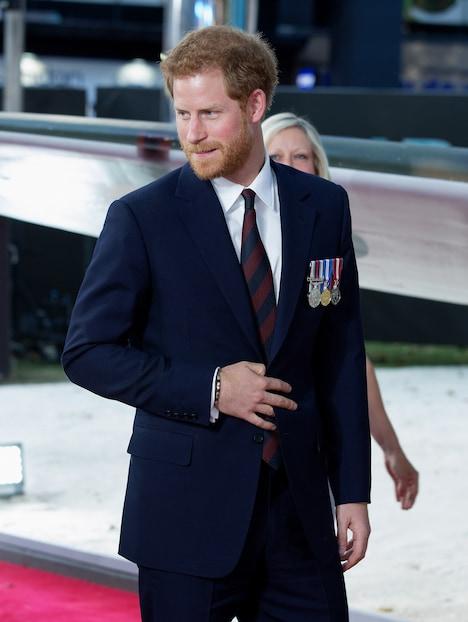 英国王室の王子、ヘンリー・オブ・ウェールズ。