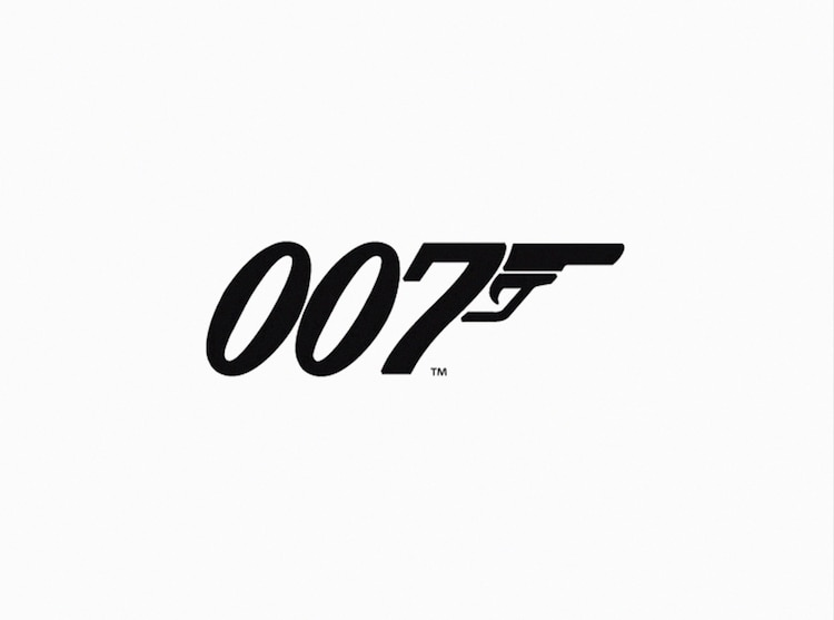 「007」シリーズのロゴ。(写真提供:T.C.D / VISUAL Press Agency / ゼータ イメージ)