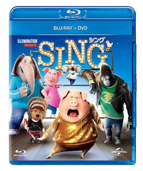「SING/シング」Blu-ray+DVDセット ジャケット