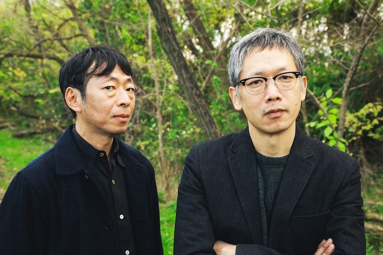 左から鈴木卓爾、矢口史靖。撮影:堀田弘明