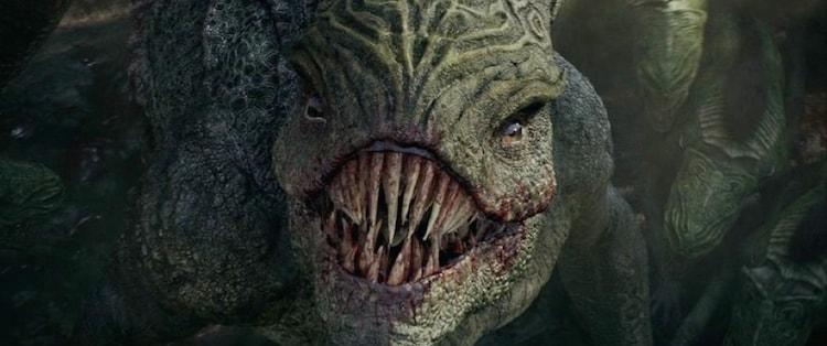 「グレートウォール」に登場する怪物・饕餮。