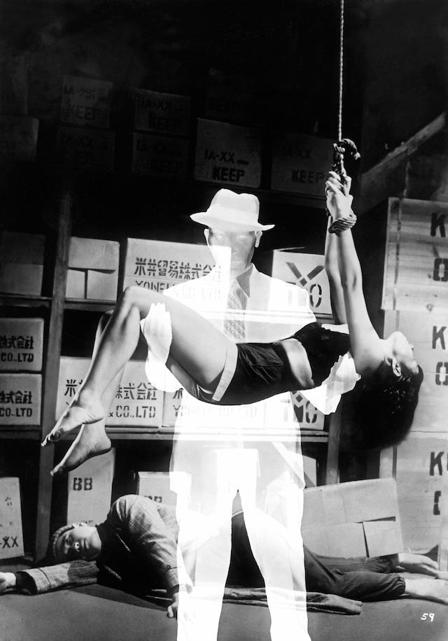 「透明人間」 (c)1954東宝