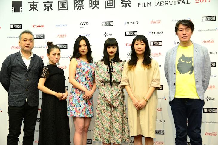 第30回東京国際映画祭ラインナップ発表会見の様子。