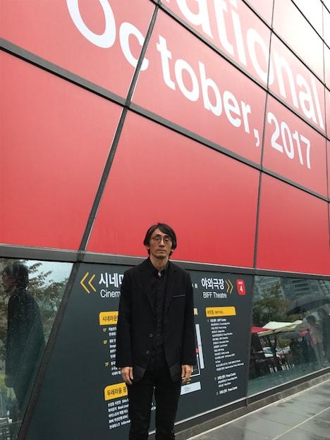 第22回釜山国際映画祭に参加した吉田大八。
