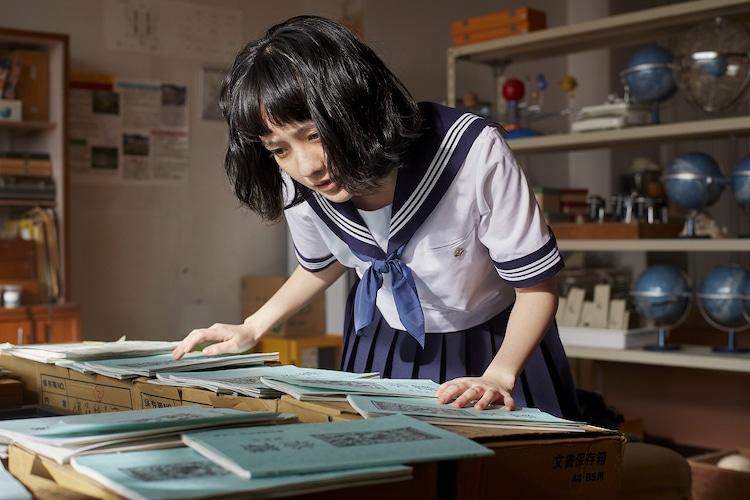 「氷菓」より、小島藤子演じる伊原摩耶花。