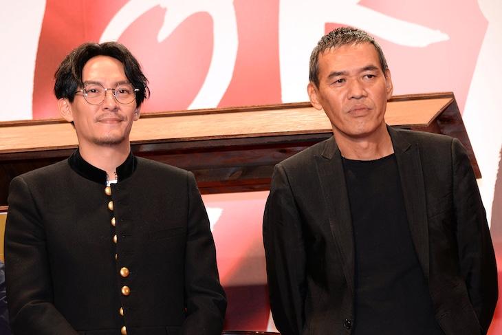 左からチャン・チェン、SABU。