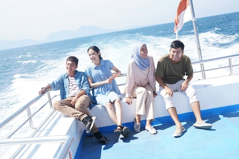 「海を駆ける」