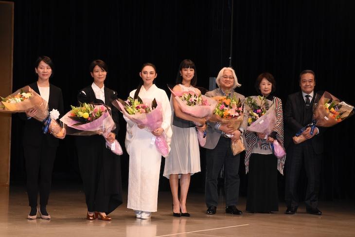 第41回山路ふみ子映画賞贈呈式の様子。