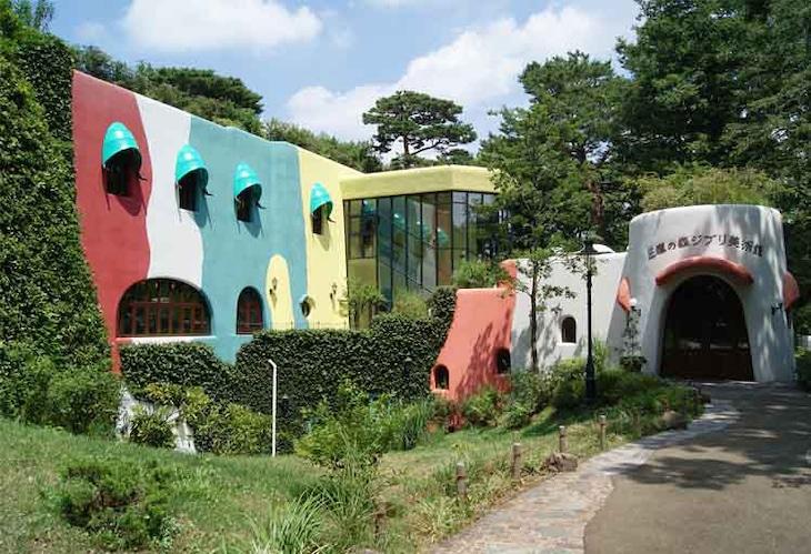 三鷹の森ジブリ美術館の外観。(c)Museo d'Arte Ghibli