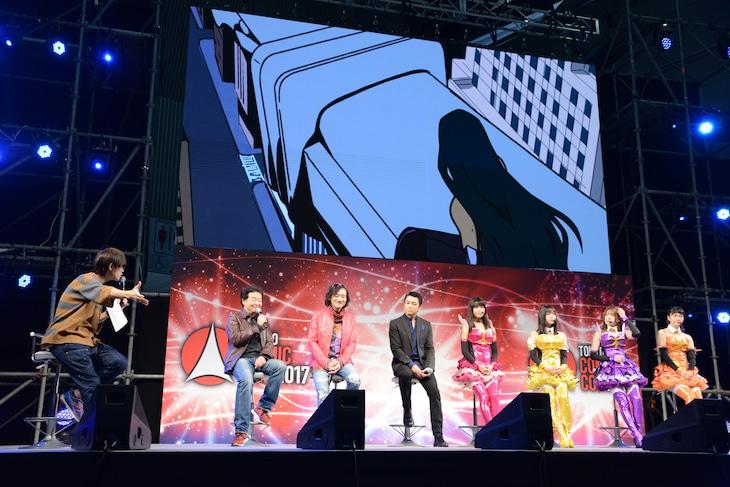 東京コミコンでの「THE REFLECTION」ステージイベントの様子。