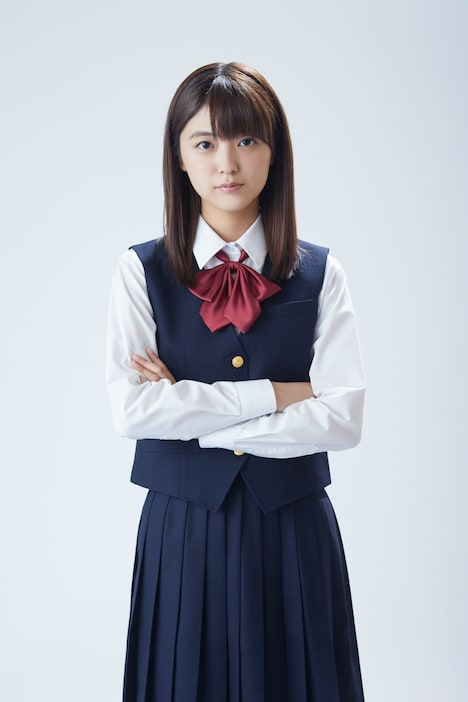 岡橋初瀬役の工藤美桜。